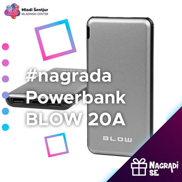Nagrada Powerbank Blow 20A