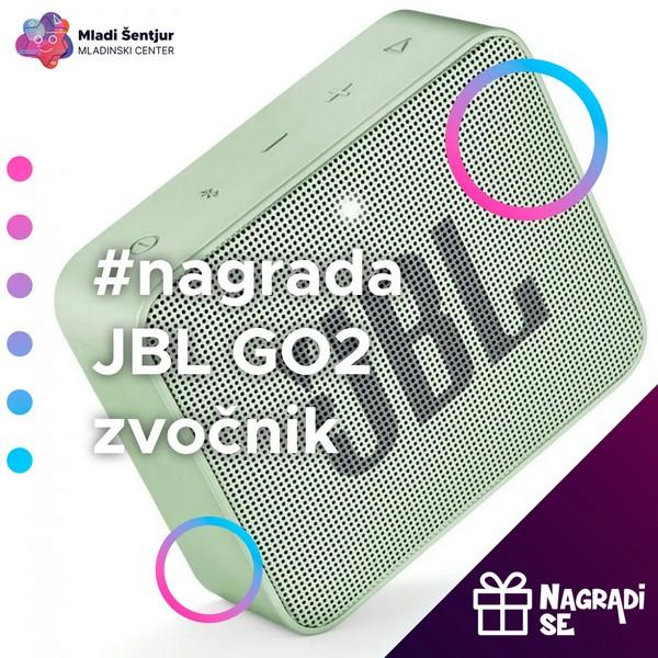 Nagrada JBL GO2 zvočnik