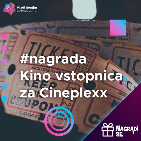 Kino vstopnica za Cineplexx